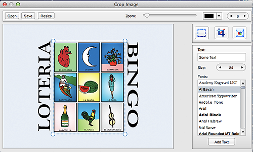 Loteria Crop Image