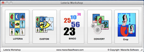 Loteria Workshop for Mac